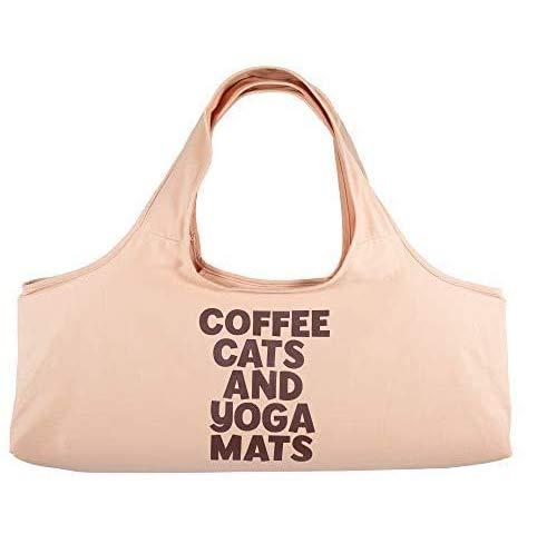 YogaPets Tragetasche für Yogamatte, groß, mit Gurt und Seitentasche, passend für die...