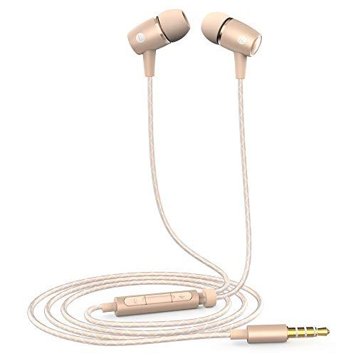 Huawei 22040218 Motor in-Ear Kopfhörer mit Mikrofon am 12Plus Gold