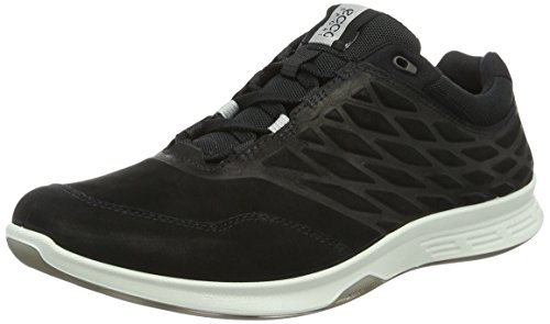ECCO Herren Exceed Low-Top, Schwarz (2001black), 44 EU
