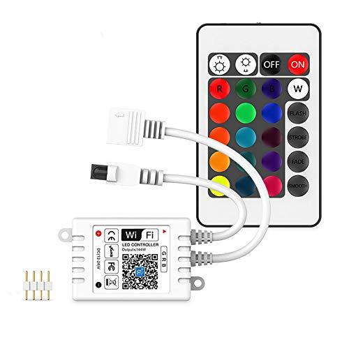 Versión actualizada RGB LED Strip Controlador compatible...