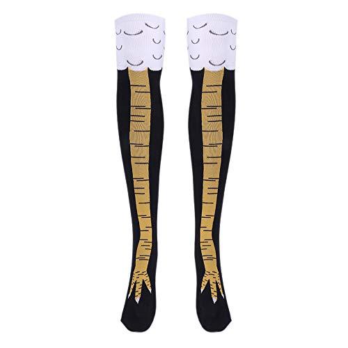 Florencinid Pies japoneses del Dedo del pie del Estilo Encantador de la Universidad de Pollo Tight Mujeres Chica Delgada Calcetines