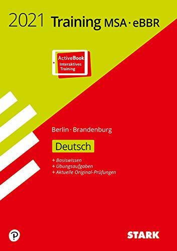 STARK Training MSA/eBBR 2021 - Deutsch - Berlin/Brandenburg