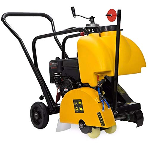 Stark 14' Walk Behind Floor Concrete Cut Off Saw Cement Masonry Briggs Stratton Engine 5.5HP, EPA Certificated