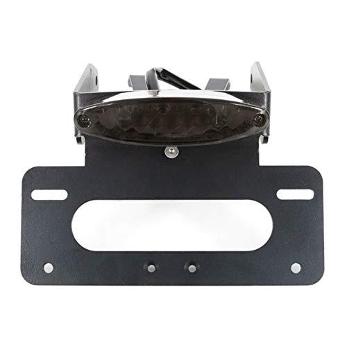 Motorrad-Zubehör for KTM 690 SMCR 690 Enduro R Kennzeichenhalter Halter hinten Kennzeichenhalter Fender Eliminator Kit (Color : Gray)