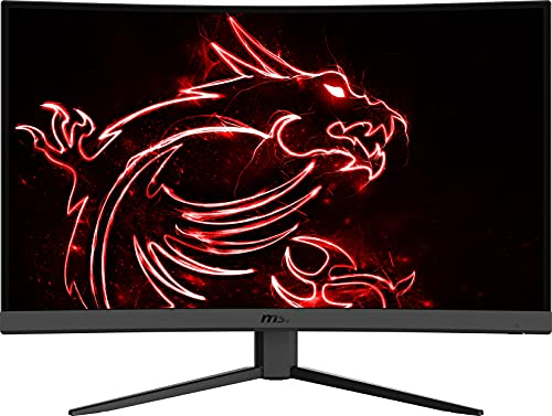 MSI Optix G32C4 - Monitor Gaming Curvo 32' FullHd 165Hz (1920x1080, 1ms de respuesta, ratio 16:9, brillo 250nits, AMD FreeSync) negro
