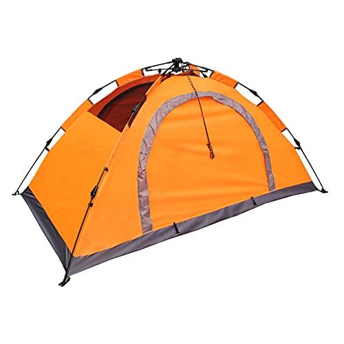 Tienda de mochilero Impermeable,Fácil Montaje, Compacta, Ligera Ideal para Acampada, Senderismo, Excursionismo, Camping,Orange