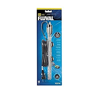 Fluval M100 Submersible Heater 100-Watt Heater for Aquariums up to 30 Gal A782