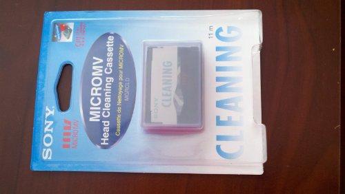 Sony Micro MV Casete de Limpieza de Cabezales