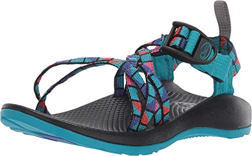 Chaco Zx1 Ecotread Sandal, Break Teal, 6 US Unisex Big Kid