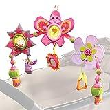 Tiny Love Arche d'activités Articulée pour bébé Butterfly Stroll , arche d'éveil colorée avec jouets, clips de fixation universels compatibles avec poussettes, nacelles et cosi, Dès la naissance