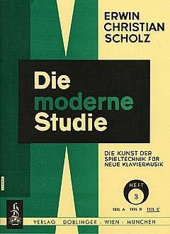 DIE MODERNE STUDIE 3 C - arrangiert für Klavier [Noten / Sheetmusic] Komponist: SCHOLZ ERWIN CHRISTIAN