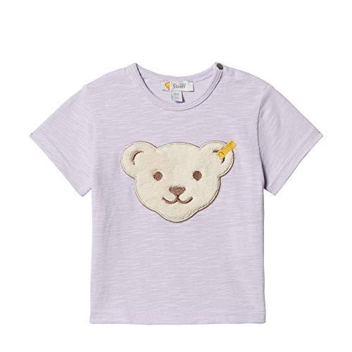 Steiff Steiff Baby-Mädchen T-Shirt Kurzarm, L001913401, Violett (Pastel Lilac 7008), 86
