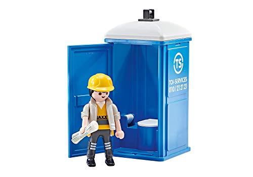 Playmobil Baño Portátil Obreros de la Construcción (En