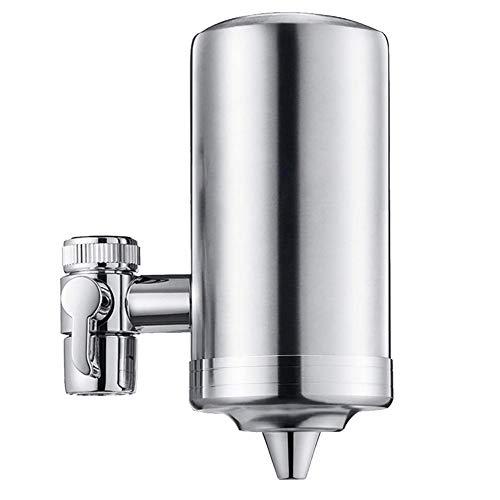 Filtro Agua Para Grifo WAS,Filtro De Cuerpo De Acero Inoxidable,Sistema De Filtración De Grifo De Agua De Varias Capas Con Cartucho De Filtro De Cerámica,Filtro De Agua Del Grifo Para Cocina Doméstica