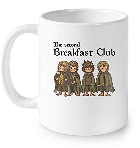 The Second Breakfast Club Mug Coffee 11oz cup tea