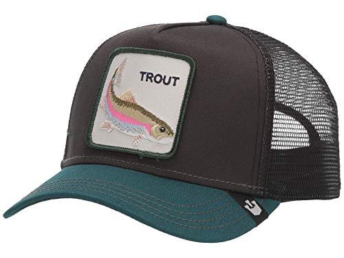 Goorin Bros. Trucker Cap Trout Schwarz, Size:ONE Size