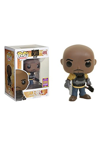 Funko - The Walking Dead Pop Vinyl Figure 495 T-Dog SDCC Summer Convention Exclusives, 14579