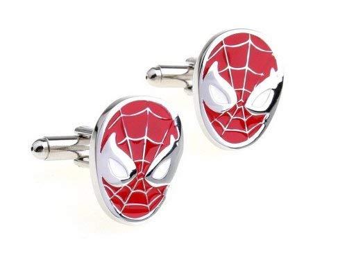 Quality Handcrafts Guaranteed Gemelli Spiderman, Festa del papà, San Valentino, Confezione Regalo Inclusa.