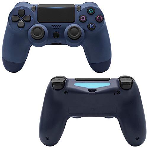 Manette de jeusans filPDTZpour manette de jeu PS4 PS4 GamepadBleu foncé