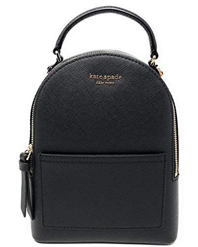 Kate Spade New York Cameron Mini Convertible Backpack (Black)