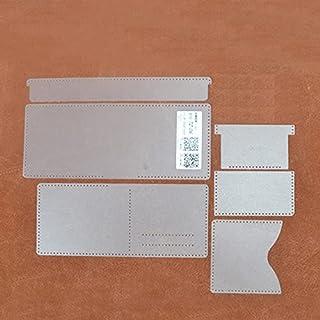 WHHHuan Portefeuille PVC Modèle PVC Modèle de Couture en Cuir de Couture en Cuir de Couture en Cuir