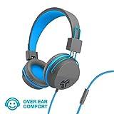 JLab Audio JBuddies Over-Ear Kids Wired Headphones | Toddler...