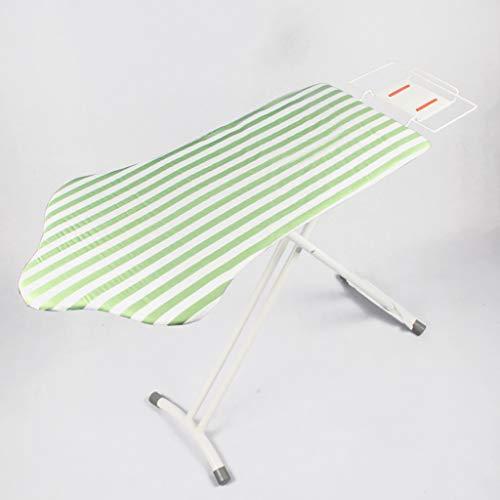 Étape 9 Hauteur réglable Table à Repasser, Extra Large Pliable Pied en t Deluxe Durable Bold Accueil Tourisme Ouate Planche à Repasser Mega-C 40x100cm(16x39inch)