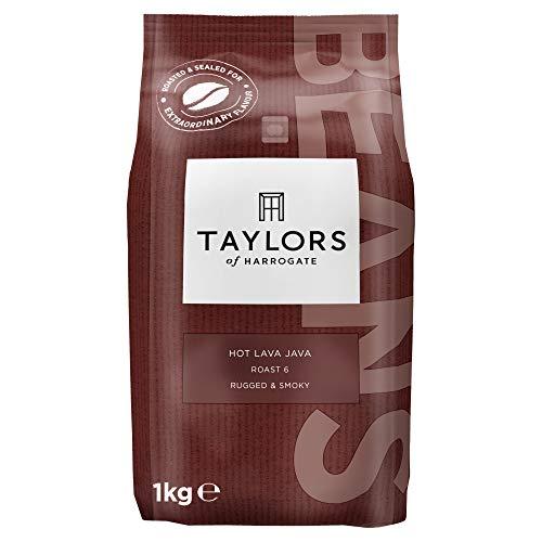 Taylors of Harrogate Hot Lava Java Coffee Beans, 1kg (Pack of 1)