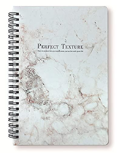 GJST Libretas Espiral a5, Espiral Premium, Cuaderno A5 21 x 14.2 cm, 100 páginasC