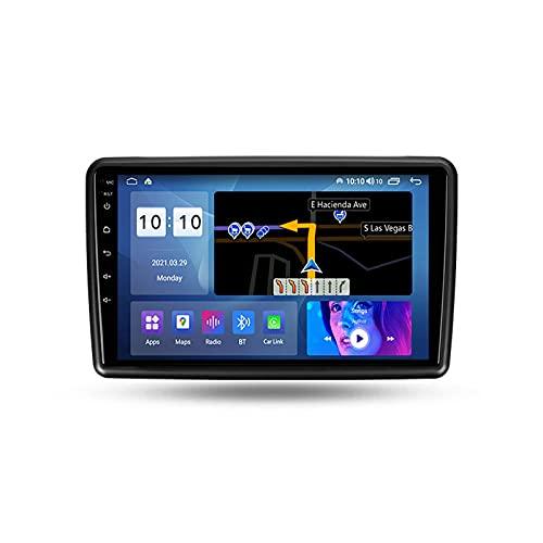 ADMLZQQ Autoradio Coche Bluetooth 2 DIN Android Radio De Coche 9'' Pantalla Táctil 5G WiFi Plug and Play Completo RCA SWC Soporte Carautoplay/GPS/Dab+/OBDII para Honda Mobilio 2 Amaze 2013-2019,M200s