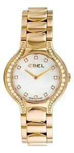 Ebel Women's 8256N28/991050 Beluga Yellow Gold Diamond Watch image