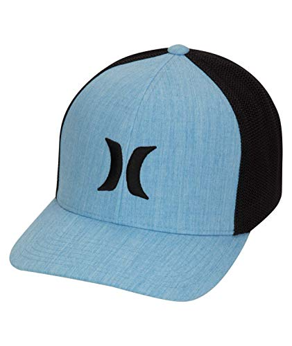 Hurley M Icon Textures Hat Gorra, Hombre, Deep Royal Blue, S/M