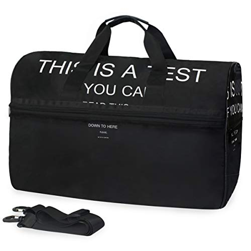 FAJRO Reisetasche für Damen und Herren, Diese A Test Reisetasche, große Größe, wasserfest, reißfest