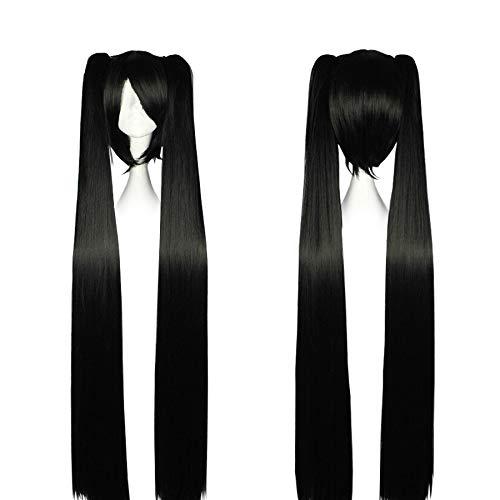 CoolChange Perruque de Miku Hatsune, Noir