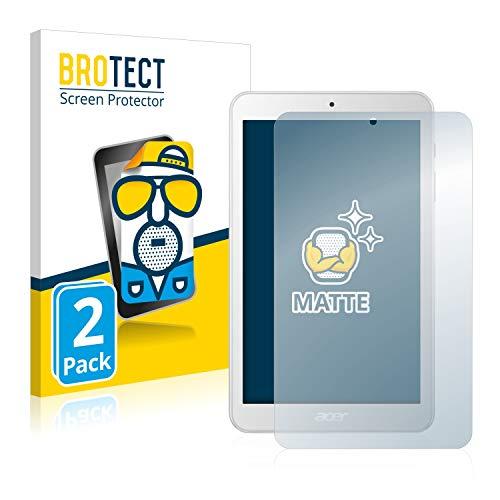 BROTECT 2X Entspiegelungs-Schutzfolie kompatibel mit Acer Iconia One 8 B1-870 Bildschirmschutz-Folie Matt, Anti-Reflex, Anti-Fingerprint