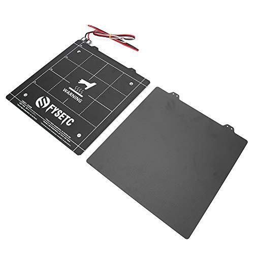 Stampante 3D Letto Caldo Piattaforma Magnetica Ad Alta Densità Con Nero Piatto Polvere 235x235mm 24V SCHUHREGALE