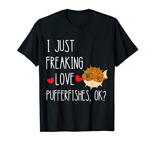 Kugelfisch Pufferfische Meerestier Auqarien Ozean Fugo Fisch T-Shirt