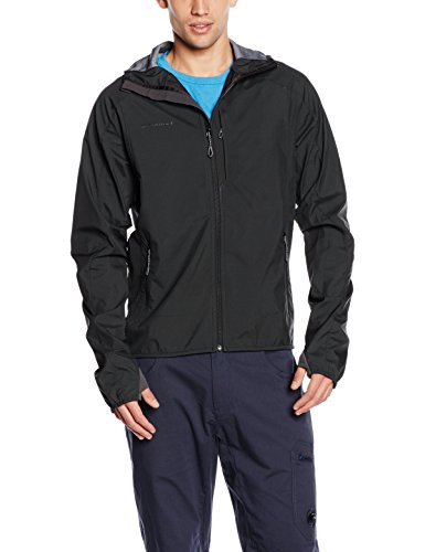 Mammut Herren Kapuzenjacke Ultimate Light SO Hooded, Graphite, XL