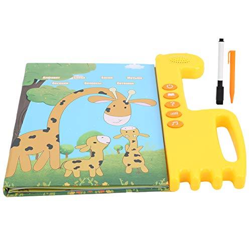03 Kinder Soundbuch, Lernen Sound Book Tablet, Russische Bücher Spielzeug, Enthält Briefe für Kinder Kinder