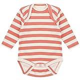 Piccalilly Baby Strampler, langärmelig, weiche Bio-Baumwolle Gr. 12-18 Monate, Orange
