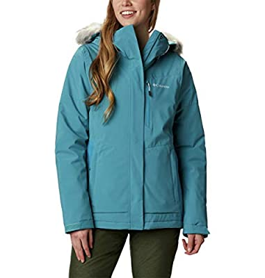 Columbia Women's Ava Alpine Insulated Jacket, Canyon Blue/Fjord Blue, XX-Large