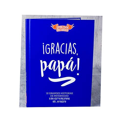 Calledelregalo Regalo para Padres: Libro '¡Gracias, papá!'