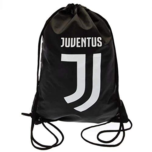 Juventus Football Club Official Black And White Draw String School Gym Crest