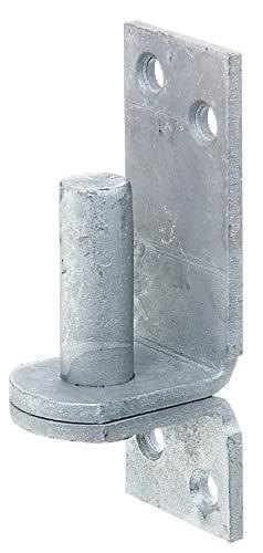 GAH-Alberts 311254 klokej na płycie   w wersji z DI lub hakami DII   cynkowane ogniowo   wymiary trzpienia Ø 16 mm   płyta 115 x 40 mm