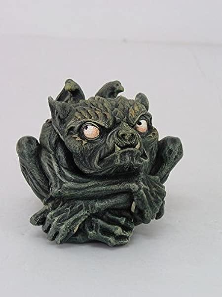 3 75 Inch Evil Toad Gargoyle Mythological Creature Statue Figurine