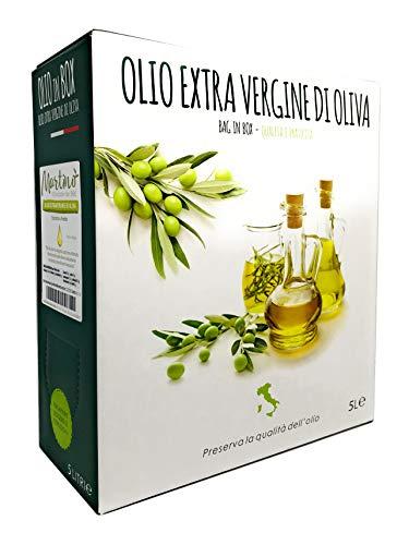 5 L Extra Natives Olivenöl 100{a095550f3b0e111e74c1a8840a383d5509a5d094303dcd2a2bd18324c2ca9b88} Italien - Behälter mit Zapfhahn