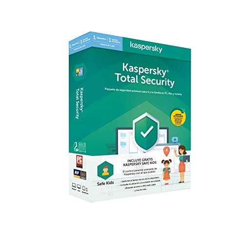 Kaspersky Software ANTIVIRUS 2020 Total Security 1 Lizenz + Safe Kids
