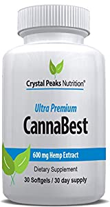 CannaBest | All-Natural Hemp Extract Softgels | Relieve Stress, Anxiety, Inflammation, Pain, Insomnia | Includes Omega 3, 6, 9 Oil for Powerful Joint Health Support and Sleep | 450 mg 30 Softgels