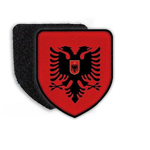 Copytec Patch Albanien Tirana EDI Rama Wappen Fahne Landesehre Aufnäher Zeichen Wappentier Stadtwappen #21902
