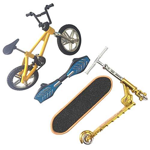 POHOVE Mini Scooter de dos ruedas Scooter Finger Scooter Bike Fingerboard Skateboard Juguete educativo Diversión Bike Scooter para niños.